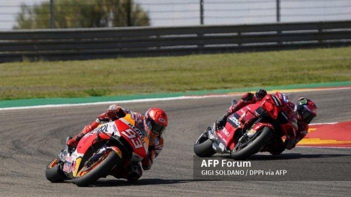MotoGP 2021 San Marino, Marc Marquez Akui Sulit Lawan Francesco Bagnaia
