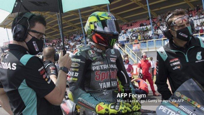 MotoGP 2021 Styria, Valentino Rossi Mengaku Tidak Ada Perbedaan pada Motornya