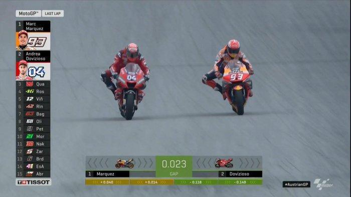 Hasil MotoGP Austria 2019 - Duel Sengit Dovizioso-Marquez