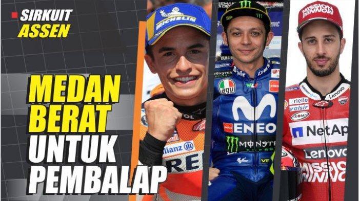 Jadwal MotoGP Belanda 2019, Ini Data dan Faktanya, Medan Berat untuk Pembalap