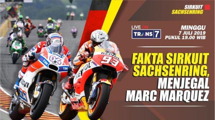 MotoGP Jerman 2019, Fakta Sirkuit Sachsenring, Menjegal Marc Marquez