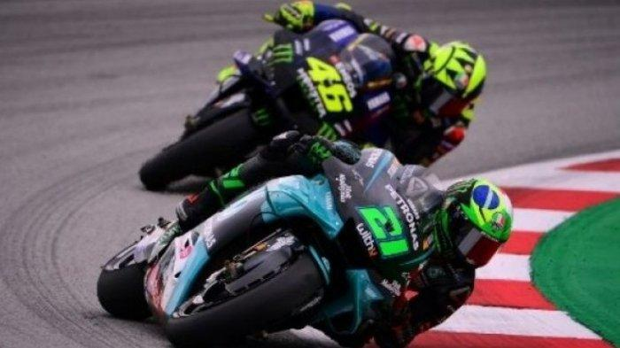 MotoGP Valencia 2020, Rossi Soroti Peningkatan Performa Morbidelli