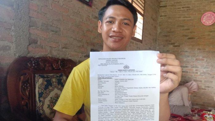Motor Finalis Mekhanai Pringsewu Lampung Raib di Parkiran saat Halal Bihalal