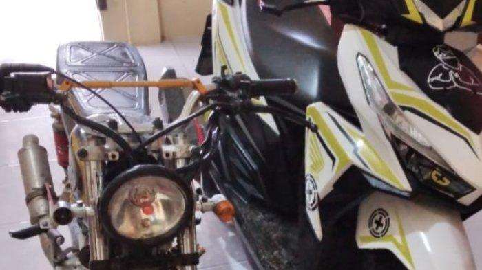 Kembali ke TKP, Motor Warga Lampung Tengah yang Ditinggal di Pinggir Jalan Hilang Dibawa Begal