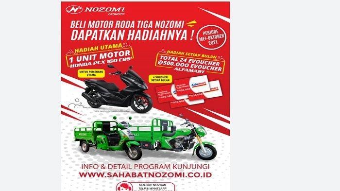 Motor Roda Tiga Nozomi Gulirkan Program Sahabat Nozomi