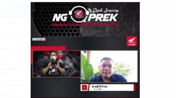 Tunas Honda Lampung Ngoprek bareng Ketua AMHL