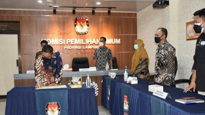 Tingkat Partisipasi Rendah, KPU Lampung Bentuk DP3 di Tanggamus