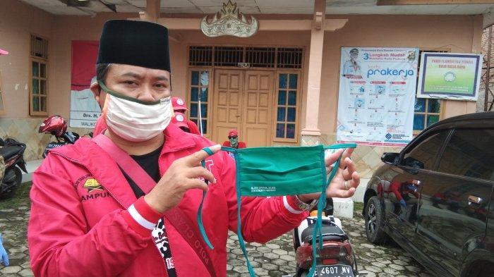 MTRH Lampung Semprot Disinfektan dan Bagikan Masker di 4 Kelurahan Kecamatan Tanjung Senang