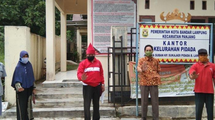 MTRH Lampung Semprot Disinfektan di Panjang, Bunda Eva: Jaga Jarak Apa pun Situasinya