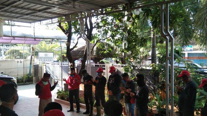 MTRH Lampung Semprot Disinfektan di Tiga Kelurahan Kecamatan Langkapura