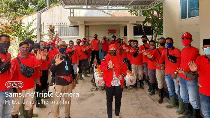 MTRH Lampung Semprot Disinfektan di 3Kelurahan Kecamatan Rajabasa