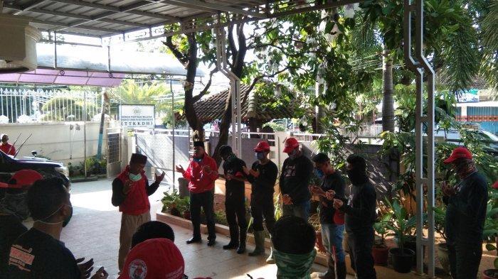 MTRH Lampung Semprot Disinfektan di Tiga Kelurahan Kecamatan Labuhan Ratu