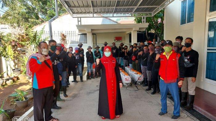 Dipimpin Eva Dwiana, MTRH Lampung Semprot Disinfektan di Way Halim