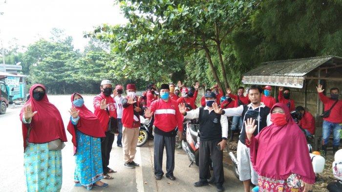 MTRH Lampung Semprot Cairan Disinfektan di Kelurahan Batu Putu dan Kuripan