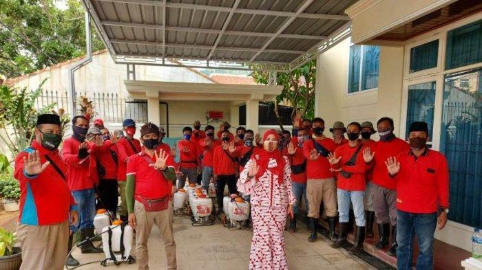 Sasar 3 Kelurahan, MTRH Lampung Kembali Semprot Disinfektan di Tanjungkarang Barat