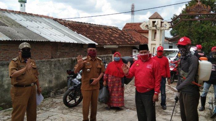 MTRH Lampung Semprot Disinfektan di 3 Kelurahan Kawasan Rajabasa
