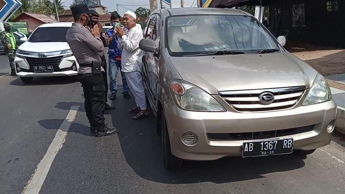 Mobil Pelat Luar Metro Disetop, Pengendara Ternyata Warga Lampung Tengah