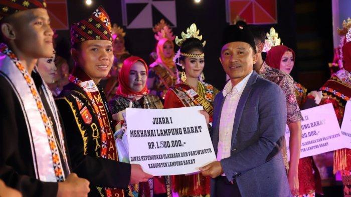 Grand final pemilihan Muli Mekhanai Lampung Barat 2019