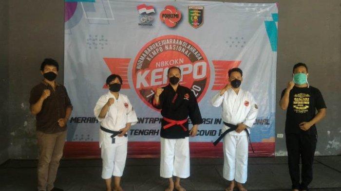 Atlet Kempo Asal Lampung Sabet Emas di Kejurnas NBKOKN, Latihan di Sela-sela Kesibukan sebagai ASN