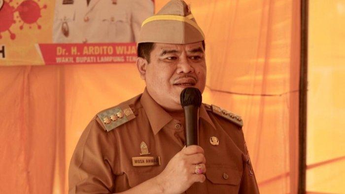 Bupati Lamteng Musa Ahmad Sampaikan Pernyataan Terkait Aksi Video Wabup Ardito Wijaya