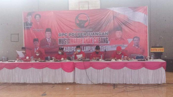 PDIP Lampung Utara Target Menang di Pemilu Tahun 2024