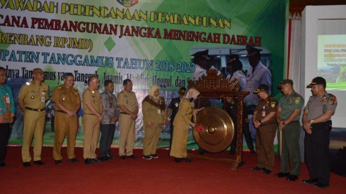 Bupati Buka Musrenbang RPJMD Kab Tanggamus Tahun 2019-2023