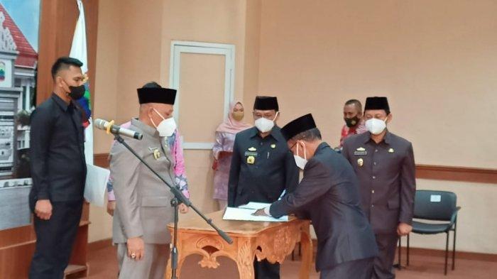 Mutasi 23 Pejabat Eselon III Lampung Selatan, Nanang Ermanto: Jangan Semena-mena
