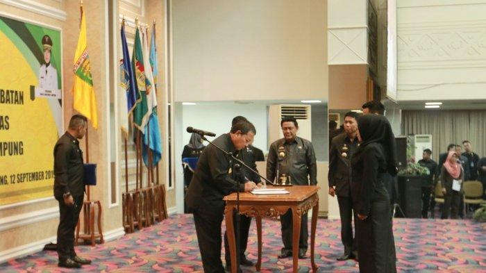 BERITA FOTO - Arinal Mutasi 587 Pejabat Eselon Pemprov Lampung