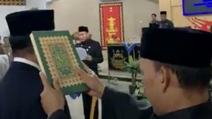 Bupati Agung Mutasi 80 PNS Lampung Utara, 3 Kepala Dinas Berpindah Tempat