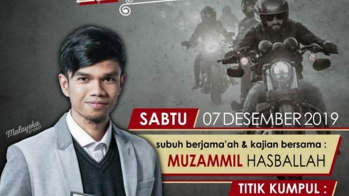 Muzammil Hasballah ke Lampung, Ajak Salat Subuh Berjamaah dan Isi Kajian di Masjid Assalam Hajimena