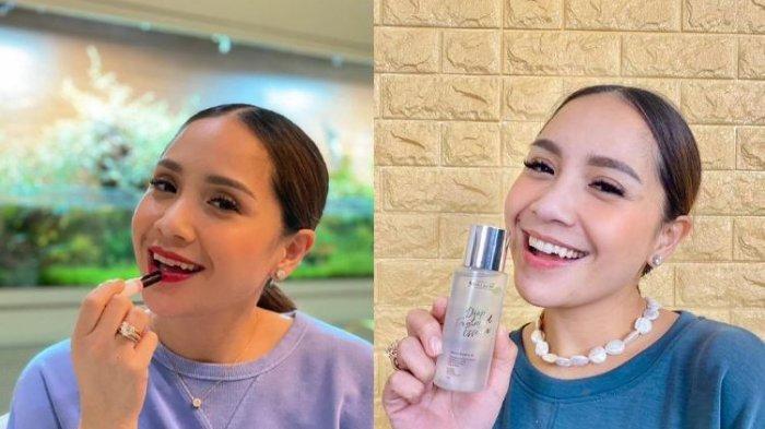 Bagikan Make Up Secara Gratis, Nagita Slavina Buat Kaget Staff