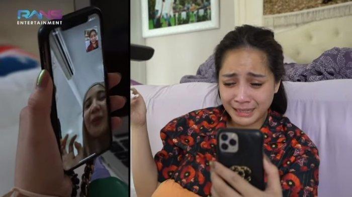 Terharu, Nagita Slavina Menangis Saat Jenguk Anak Zaskia Sungkar