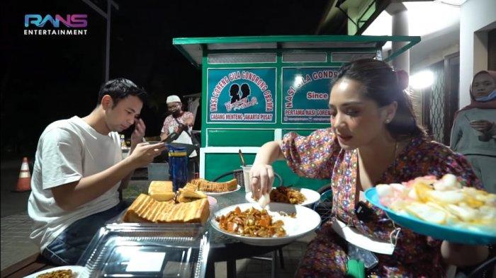 Istri Raffi Ahmad, Nagita Slavina Adakan Festival Makanan Depan Rumah