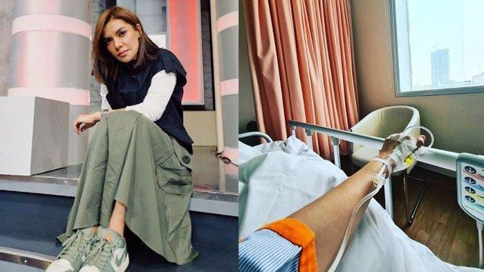 Najwa Shihab Terbaring Lemas di Rumah Sakit, Unggah Foto Tangan Diinfus