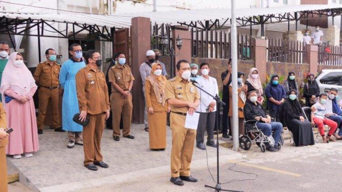 Nakes RSUD Ahmad Yani Metro Meninggal Dunia karena Covid-19, Wahdi Beri Penghormatan Terakhir
