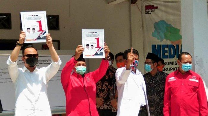 Dapat Nomor Urut 1, Nanang: Berarti Persatuan, Insya Allah Bisa Majukan Lampung Selatan