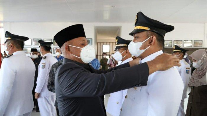 Nanang Ermanto Lantik Ratusan Pejabat Eselon Lampung Selatan