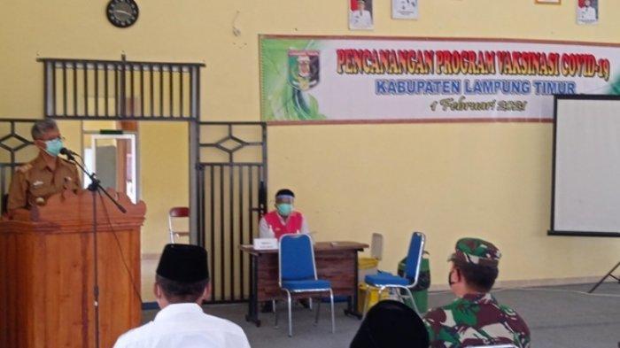 Kadiskes Lampung Timur Imbau Pasca Vaksinasi Covid-19 Tetap Menerapkan Protokol Kesehatan