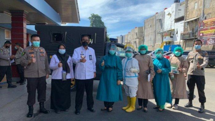 Polda Lampung Beri bantuan 1000 Alat Test Rapid Antigen kepada Lapas Kelas I Bandar Lampung
