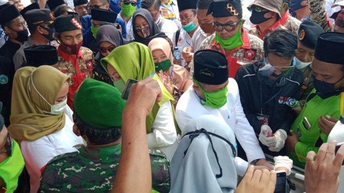 Daftar ke KPU Lampung Tengah, Nessy Mustafa: Ini Langkah Awal Menuju Kemenangan