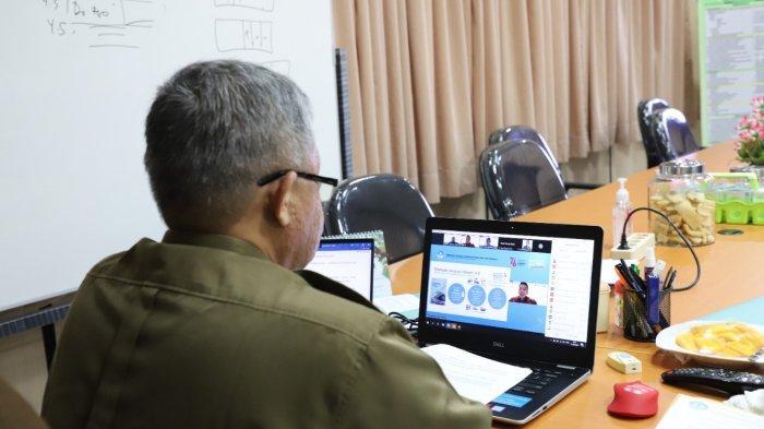 Wakil Rektor Universitas Lampung Ikuti Webinar Sosialisasi Program Merdeka Belajar-Kampus Merdeka