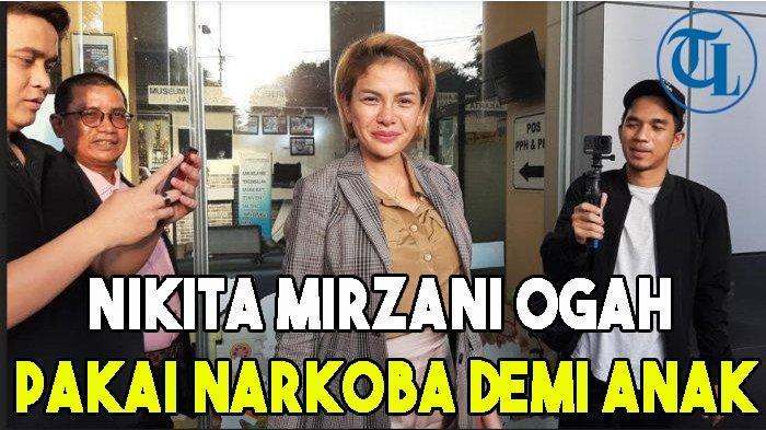 Nikita Mirzani Ogah Pakai Narkoba Demi Anak