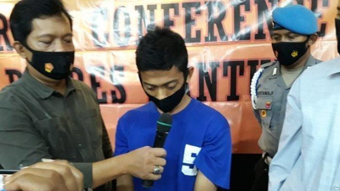 NK (22) pelaku pembunuhan Budiyantoro