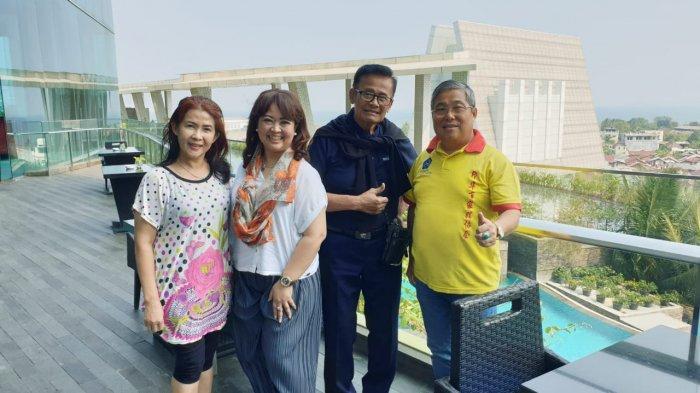 Mendarat di Lampung, Koes Hendratmo Siap Hadiri Arisan PSMTI Bandar Lampung