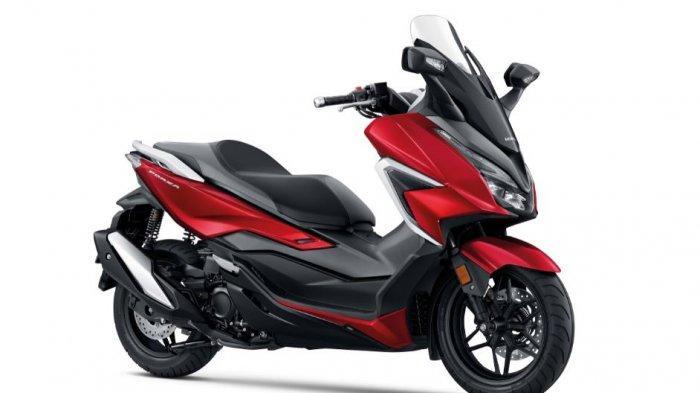 Honda Forza Tampil Semakin Mewah dan Prestisi