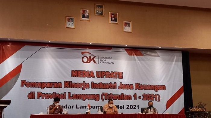 OJK Lampung Terus Perkuat Kontribusi Sektor Jasa Keuangan di Tengah Pandemi Covid-19