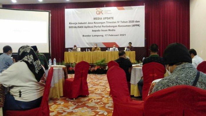 OJK Optimistis Industri Jasa Keuangan di Lampung Membaik di Tahun 2021