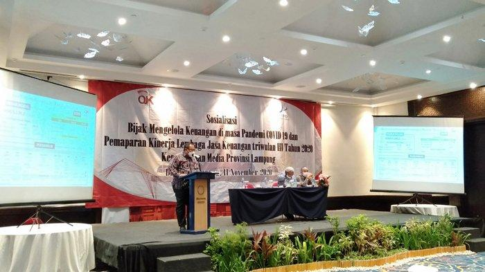 OJK Sebut Kinerja Sektor Jasa Keuangan di Lampung Menopang Pemulihan Ekonomi