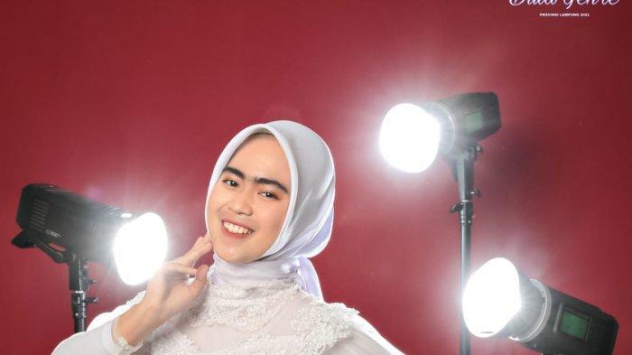 Bekti Ayuningtiyas Mahasiswi UM Metro Raih Juara 3 Duta Generasi Berencana Putri Lampung
