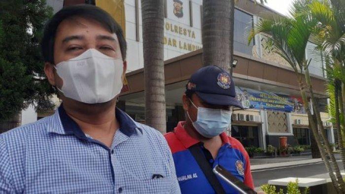Oknum ASN BPBD Bandar Lampung Dilaporkan ke Polisi, Disebut Gelapkan Pinjaman Tenaga Honorer